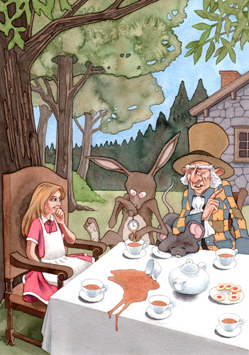 Illustration - Teaparty